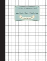 Graph Notebook 1/2 Inch Squares