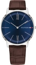 Tommy Hilfiger TH1791514 Horloge - Leer - Bruin - Ø 40 mm