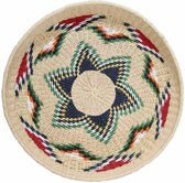 Mand/Schaal - gerecycled papier - native woven - 52cm - Storebror