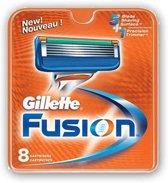 Gillette Fusion Scheermesjes - 8 stuks