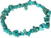 Turqoise edelsteen splitarmband - Gems and Giftshop