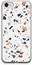 iPhone 8 Transparant Hoesje (Soft) - Terrazzo N°4