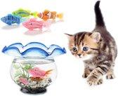 Robot Visjes Katten simulatie speelgoed (set 5 stuks)