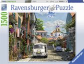 Ravensburger Idylisch zuid Frankrijk- Puzzel van 1500 stukjes