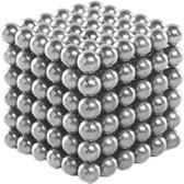 Buckyballs Magnetic Balls / Magic Puzzle Magnet Balls (216 pcs Magnet Balls Included), zilver