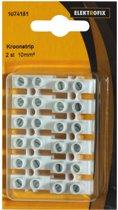 Elektrofix kroonstrip 10 mm 2 stuks