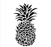 The Crafter's Workshop • template 30x30cm pineapple