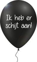 12 verwensballonnen in cadeauverpakking 'Ik heb er schijt aan'