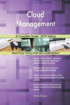 Cloud Management A Complete Guide - 2019 Edition