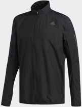 adidas Response Wind Jacket Hardloopjas Heren - Black1/Wht/Black