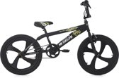 Ks Cycling Fiets 20 inch Freestyle BMX Daemon - 28 cm