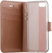 BeHello iPhone SE Gel Wallet Case Rose Gold