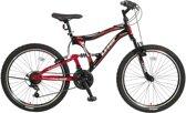 Umit Albatros 24 inch Mountainbike - Rood/Blauw