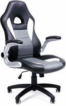 Gaming Chair of Bureaustoel op Wieltjes – Ergonomische Office Chair – Afstelbare Draaistoel - Grijs
