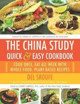 Boek cover The China Study Quick & Easy Cookbook van Del Sroufe (Paperback)
