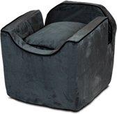 Snoozer Lookout - Autostoel - Autozitje voor honden - Small 48x38x43 cm - Antraciet