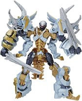 Transformers 18-Step Dinobot Slug - 14 cm - Robot