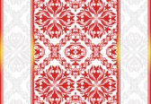 Fotobehang Abstract Pattern | XXL - 206cm x 275cm | 130g/m2 Vlies