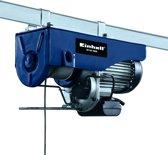 Einhell BT-EH 1000 Elektrische Kabeltakel - 1600 W - Draagkracht: 500 / 1000 kg - Hijshoogte: 11.5 / 6 m