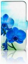 Samsung Galaxy E5 Uniek Ontworpen Hoesje Orchidee