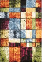 Tapijt Olbios Multicolor Squares 160X230 cm