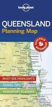 Lonely planet: queensland planning map (1st ed)