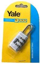 Yale cijferhangslot 30mm (code van 3 cijfers)