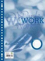 Work ringbandinterieur A4 23 gaten met kantlijn