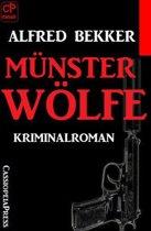 Alfred Bekker Kriminalroman - Münsterwölfe