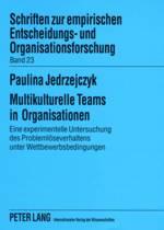 Multikulturelle Teams in Organisationen