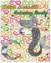 Adult Mermaid Coloring Books
