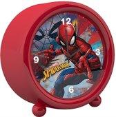 Spiderman wekker rood