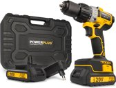 Powerplus POWX00450 Accu klopboormachine - 20V - 2 accu's - borstelloze motor - incl. gereedschapskoffer