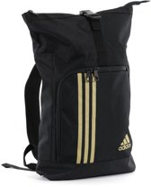 adidas Training Military Sporttas Zwart/Goud Large