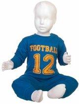 Fun2Wear Football Pyjama Blauw maat 98