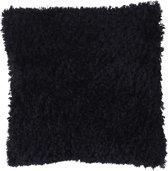 Dutch Decor Sierkussen Glenn 45x45 cm zwart