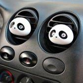 Auto luchtverfrisser panda / parfum houder