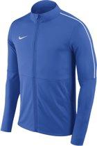 Nike Park 18 Hoodie AA2059-463, Mannen, Blauw, Sporttrui casual maat: M EU