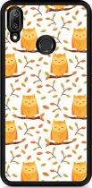 Huawei Y7 2019 Hardcase hoesje Cute Owls