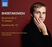 Shostakovich: Symph. 2+15
