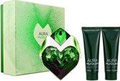 Thierry Mugler - Eau de parfum - Aura 30ml eau de parfum + 50ml showergel + 50ml bodylotion - Gifts ml