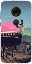 Casetastic Softcover Motorola Moto G7 / G7 Plus - Llama