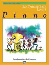 Alfred's Basic Piano Library Ear Training, Bk 3