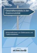 Geschaftsmodelle in Der Elektromobilitat
