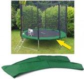 Trampoline rand afdekking - 244 cm diameter - groen