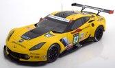 Chevrolet Corvette C7.R No.63, 24h Le Mans 2016 Magnussen/Garcia/Taylor 1-18 Autoart ( Resin )
