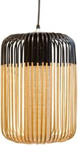Forestier Bamboo Light Hanglamp Large Zwart