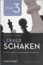 Lekker schaken stap 3 vooruitdenken/ plannen maken/ verdedigen