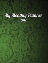 My Monthly Planner 2017