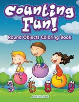 Counting Fun! Round Objects Coloring Book